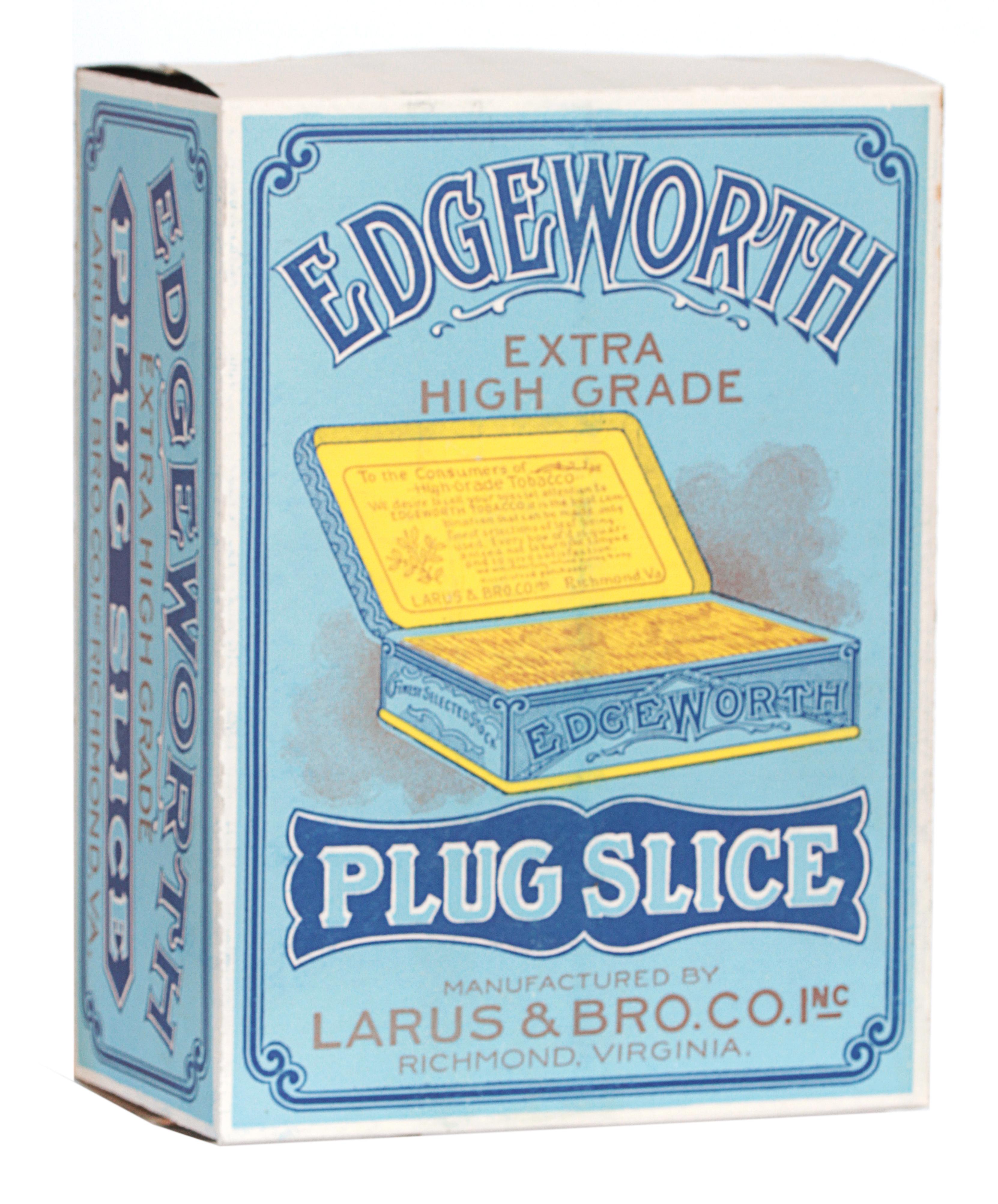 Edgeworth Tobacco Display Box