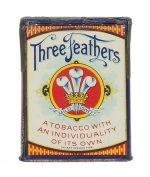 Three Feathers Tobacco Pocket Tin