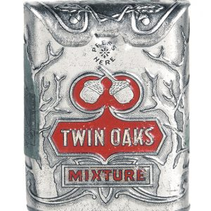Twin Oaks Sample Tobacco Tin