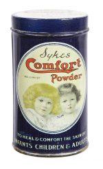 Sykes Comfort Powder Tin