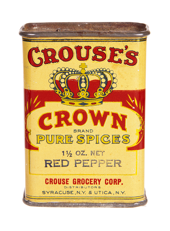 Crouse's Crown Spice Tin