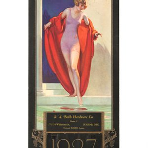 1927 National Mazda Lamps Calendar