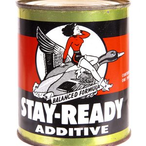 Stay-Ready Motor Oil Additive Tin