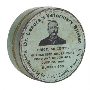 Dr. Lesure's Veterinary Tin