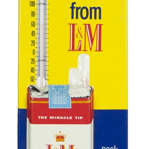 L & M Cigarettes Thermometer