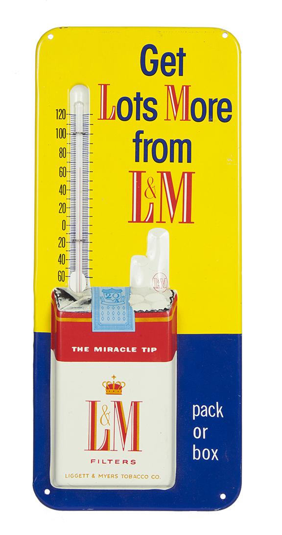 L & M Cigarettes Thermometer