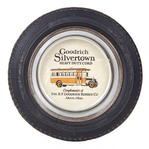 Goodrich Silvertown Tires Ashtray
