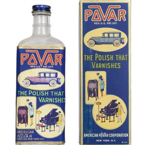 Pavar Polish Bottle