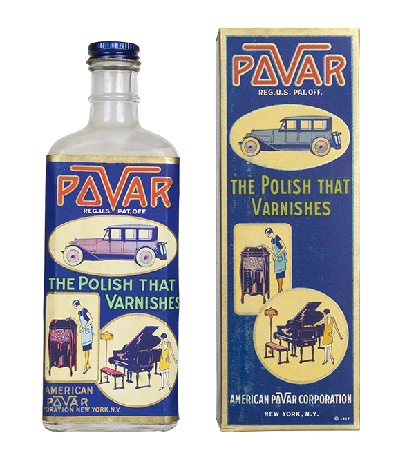Pavar Polish Bottle