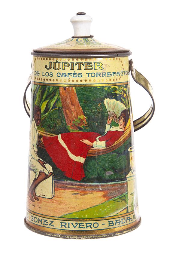 Jupiter Coffee Tin