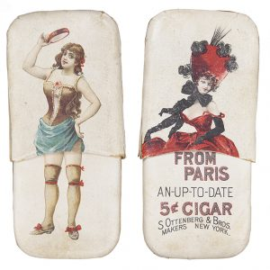 Girl From Paris Cigar Holder