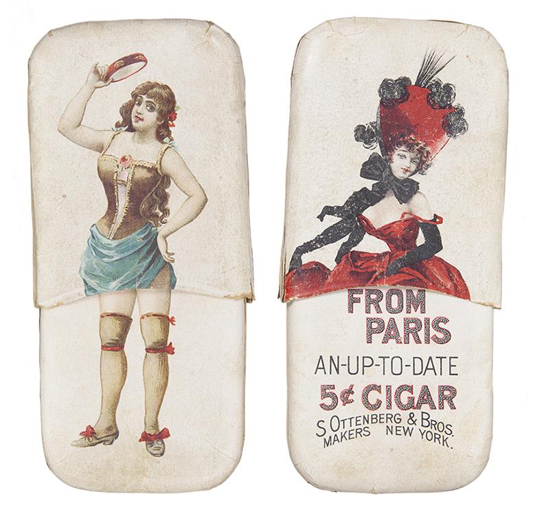 Girl From Paris Cigar Holder