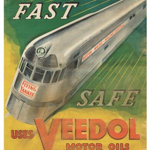 Veedol Oil Co. Poster