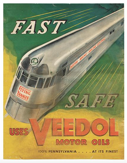 Veedol Oil Co. Poster