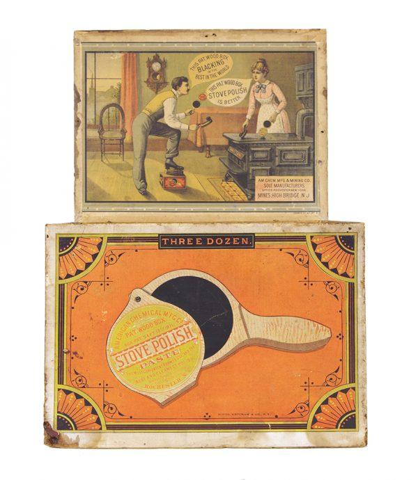 Stove Polish Paste Box
