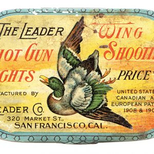 Leader Shot Gun Sights Tin