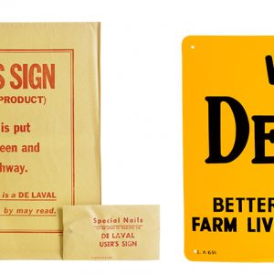 De Laval Dairy Farm Sign