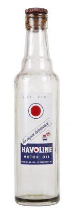Havoline Motor Oil Bottle