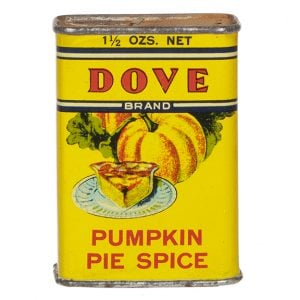 Dove Spice Tin