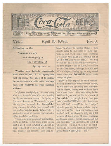 Coca-Cola News Bulletin