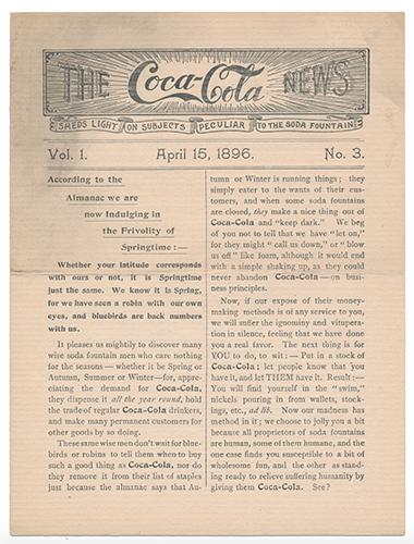 Coca-Cola News Bulletin