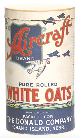 Aircraft Oats Box