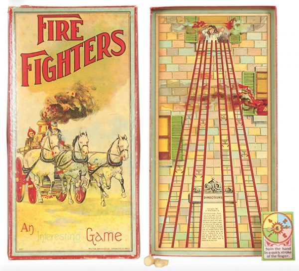 Fire Fighters Board Game