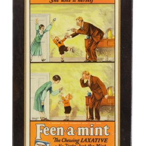 Feen-a-mint Gum Sign