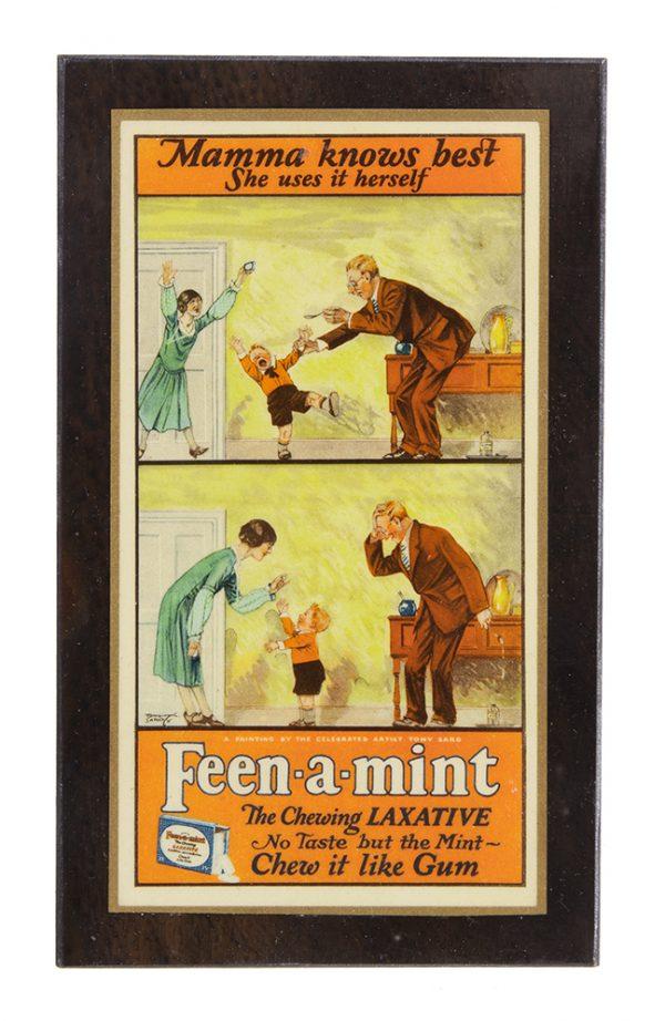 Feen-a-mint Gum Sign