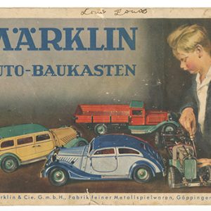 Marklin Toys Catalog
