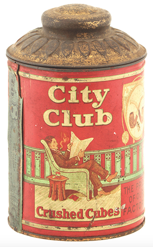 City Club Tobacco Canister
