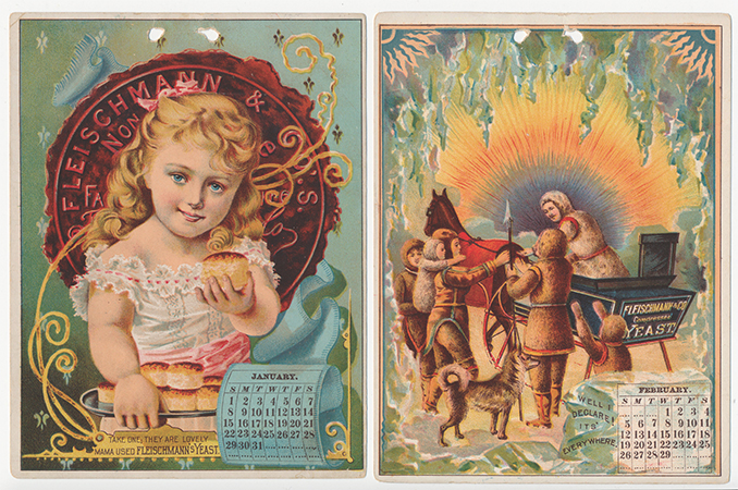Fleischmann's Yeast Calendar Set