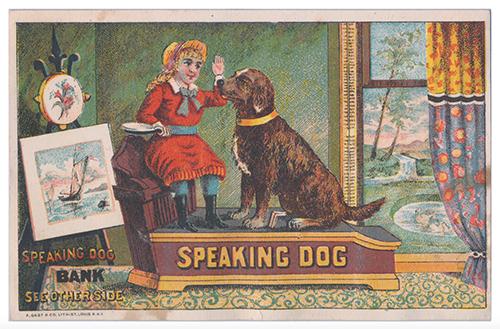 Speaking Dog Bank Card