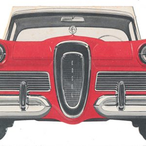 Ford Edsel Cars Die-Cut