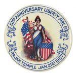 Liberty Fire Company Pocket Mirror
