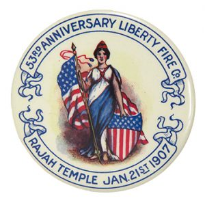 Liberty Fire Company Pocket Mirror