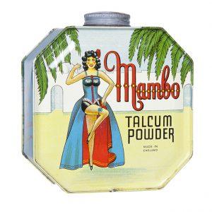 Mambo Talcum Powder Tin