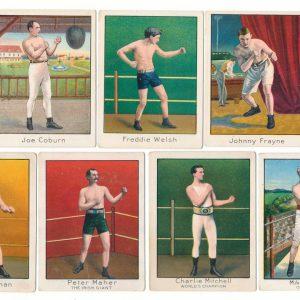 Mecca Cigarettes Boxing Cards