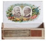 1888 Political Republican Cigar Box
