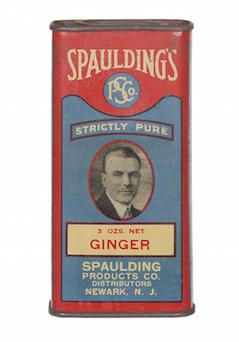 Spaulding's Spice Tin