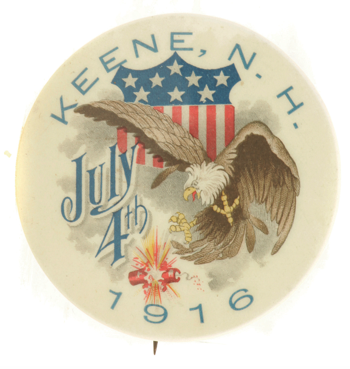Keen Fireworks Badge