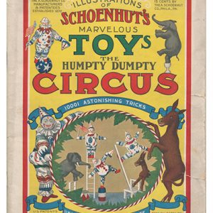1918 Schoenhut Toy Circus Catalog