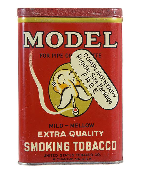 Unopened Model Sample Pocket Tobacco Tin