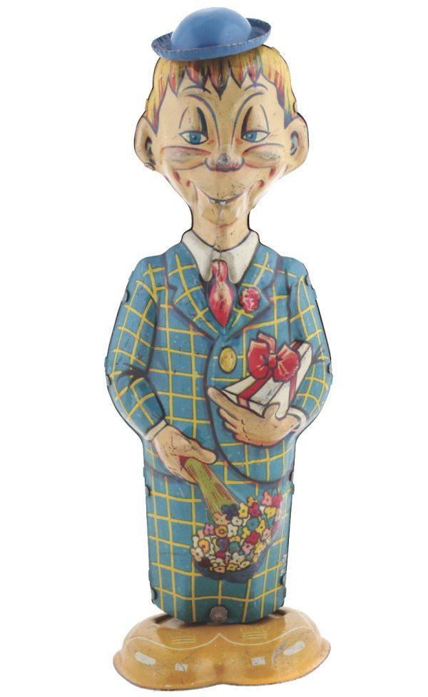 Mortimer Snerd Walker Tin Toy