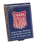 United Cigar Stores Match Safe