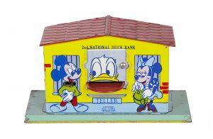 Donald Duck Mechanical Bank