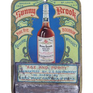 Sunny Brook Whiskey Match Holder