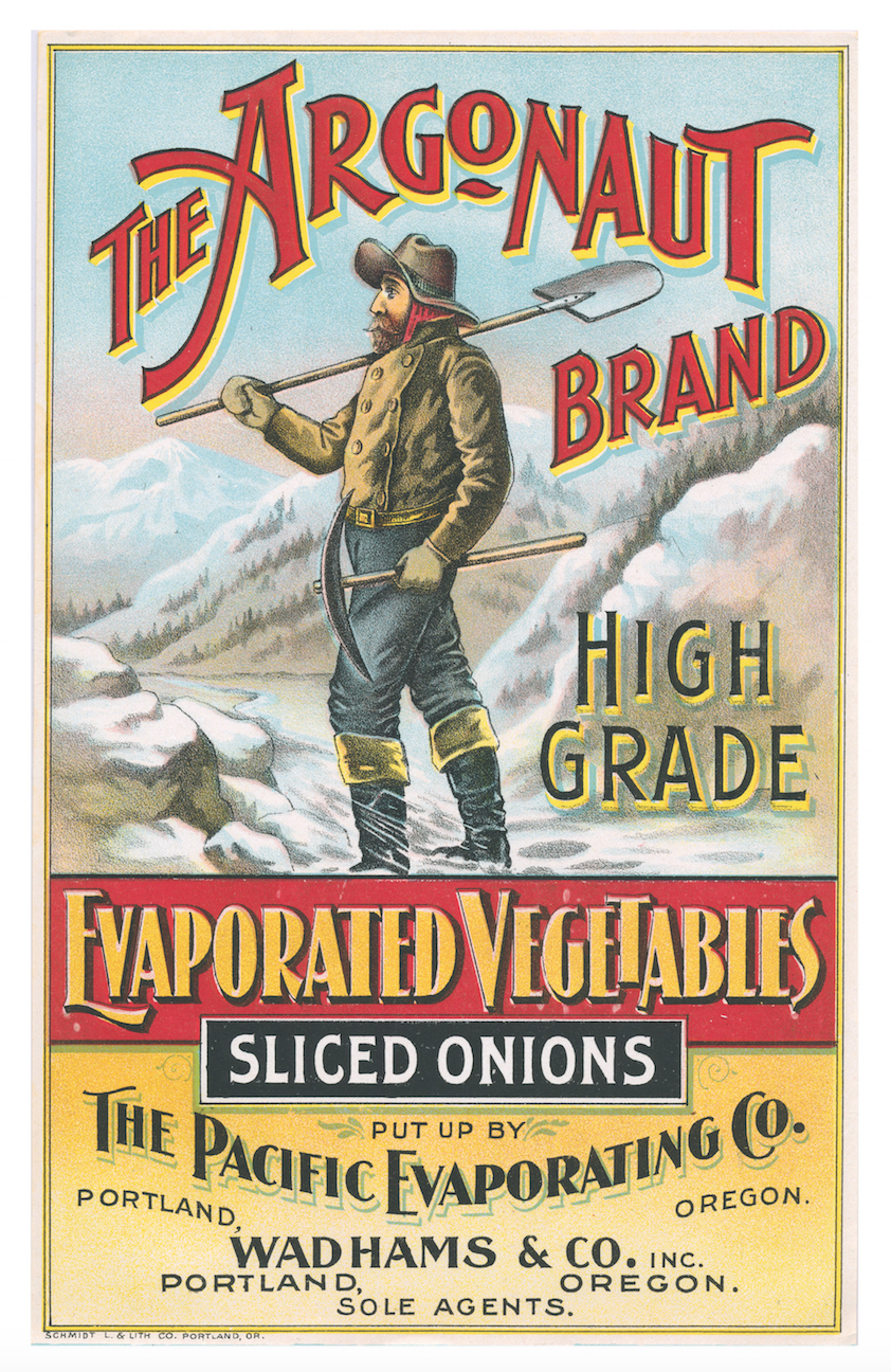 Argonaut Vegetables Crate Label