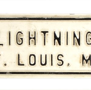 Lightening Rods Sign