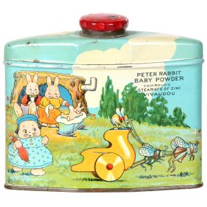Peter Rabbit Baby Powder Tin